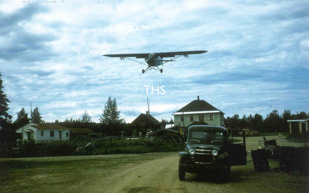 1956 Sheldon's Plane