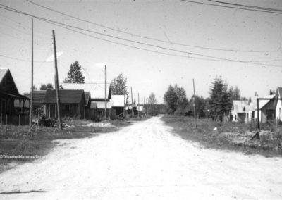 1960 Talkeetna Main Street
