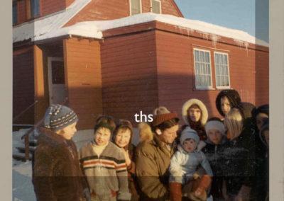 1969 Sheldon and schoolchildren